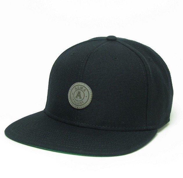Black Flat Brim Hat