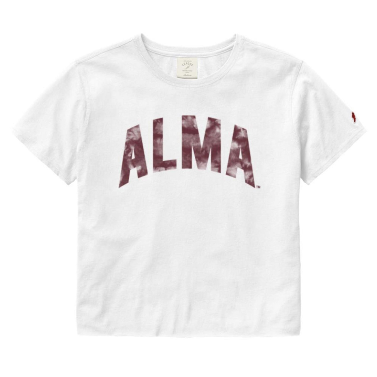 Cropped Tie Dye Alma Tee