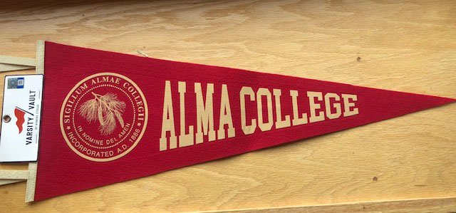 Pennant Alma College 9x24