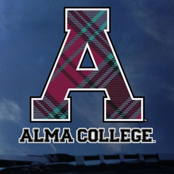 Large Plaid A Decal