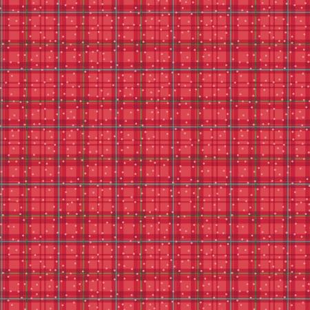 RED WINTER PLAID BETTER NOT POUT