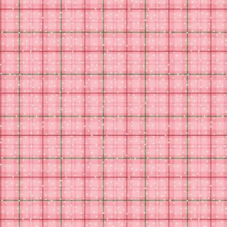 CORAL WINTER PLAID BETTER NOT POUT