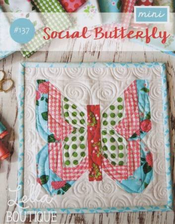 SOCIAL BUTTERFLY MINI PATTERN