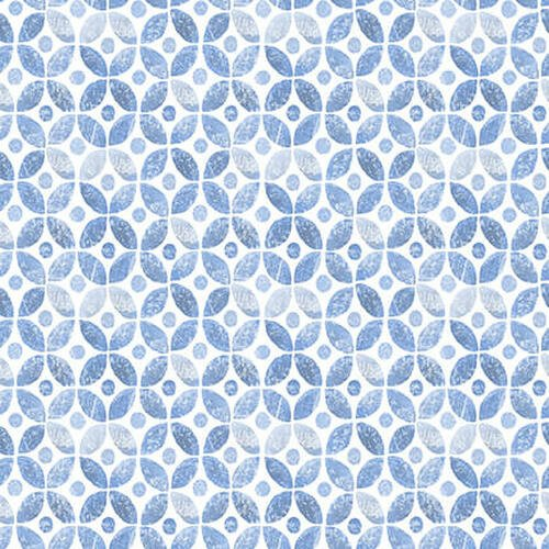 BLUE JUBILEE - LT. BLUE GEOMETRIC