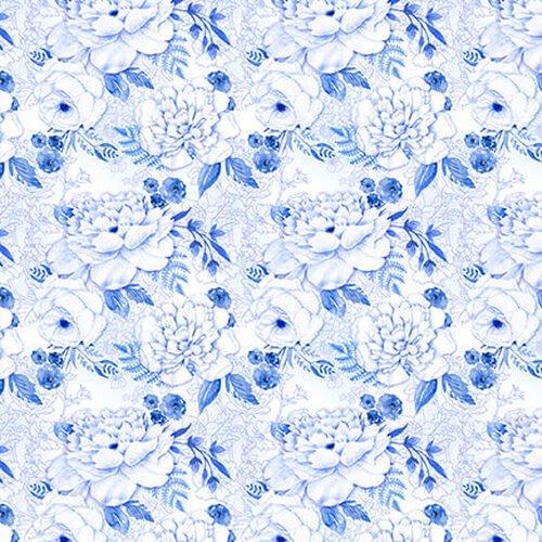 BLUE JUBILEE - LT. BLUE CABBAGE ROSE