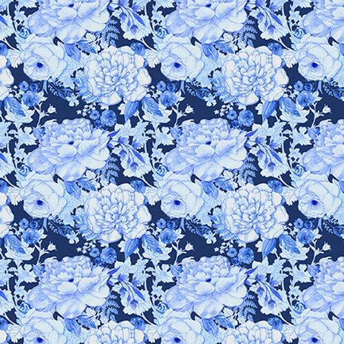 BLUE JUBILEE - MED. BLUE CABBAGE ROSE