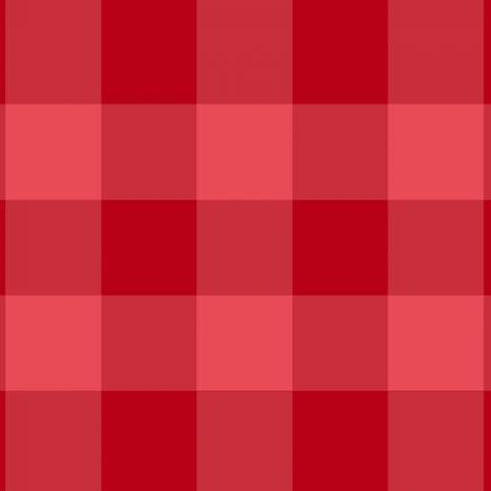 TEA TOWEL RED BUFFALO CHECK BETTER NOT POUT