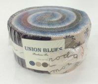 Moda Union Blues Jelly Roll
