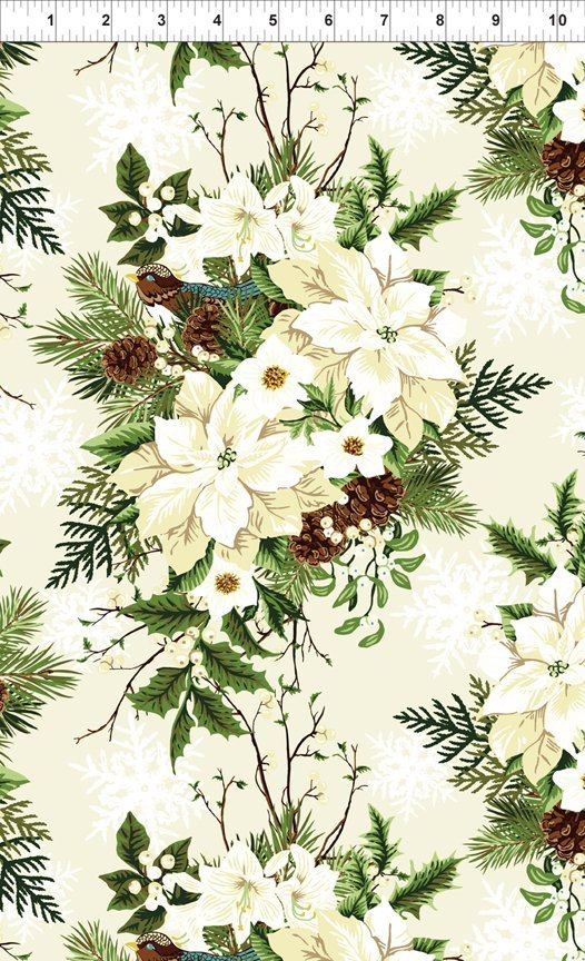 CLEARANCE WINTER TWIST WHITE FLORAL