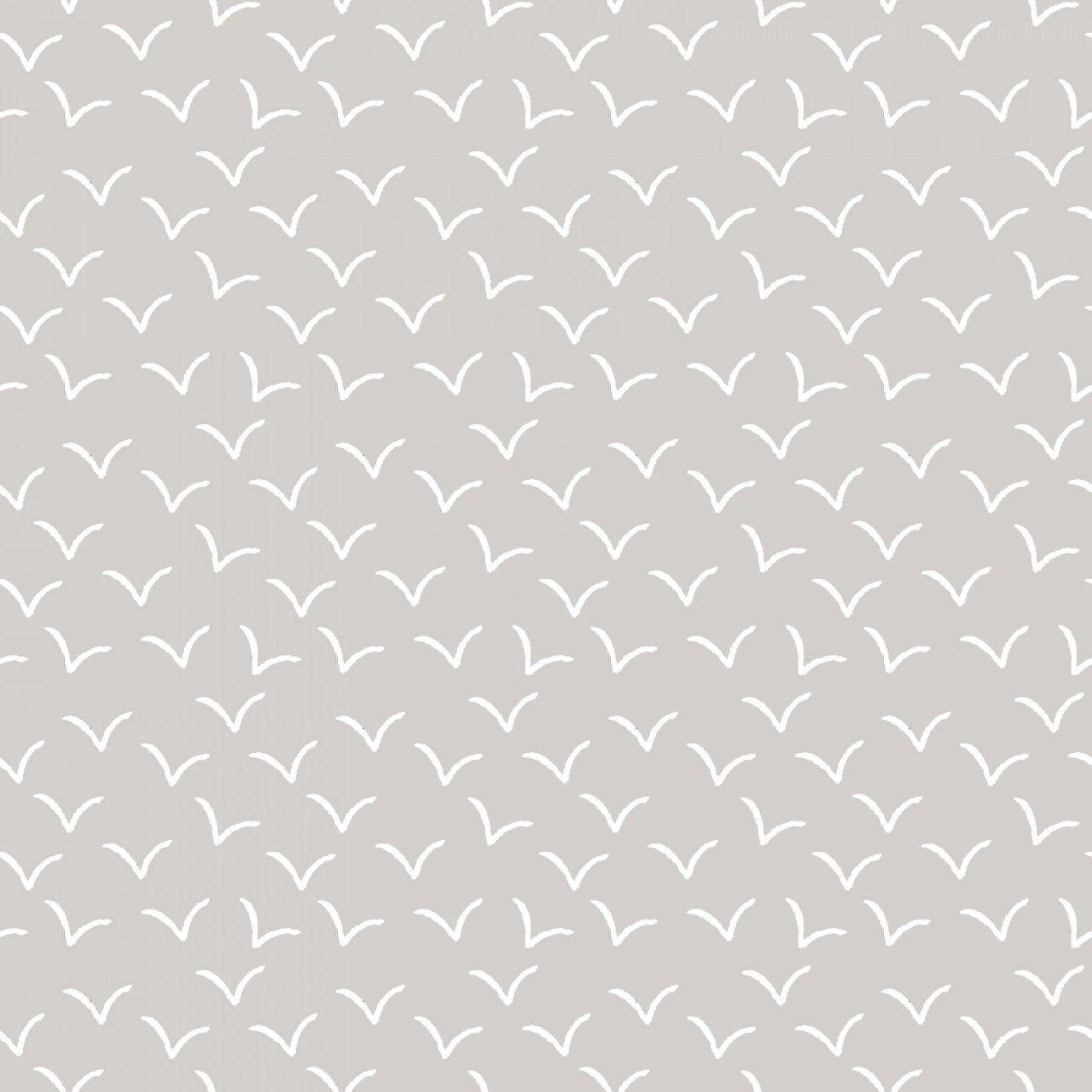 3W BASICS BIRDS-GRAY