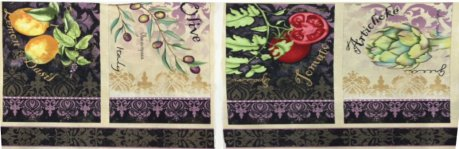 Wilmington Prints Della Terra Place Mats