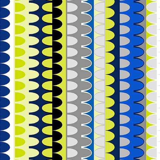 GRIDWORK ARCHES BLUE MULTI