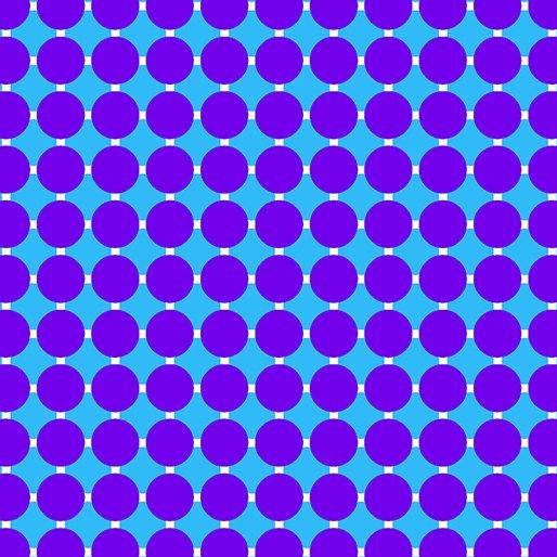 GRIDWORK ARCHES GRAPE/BLUE