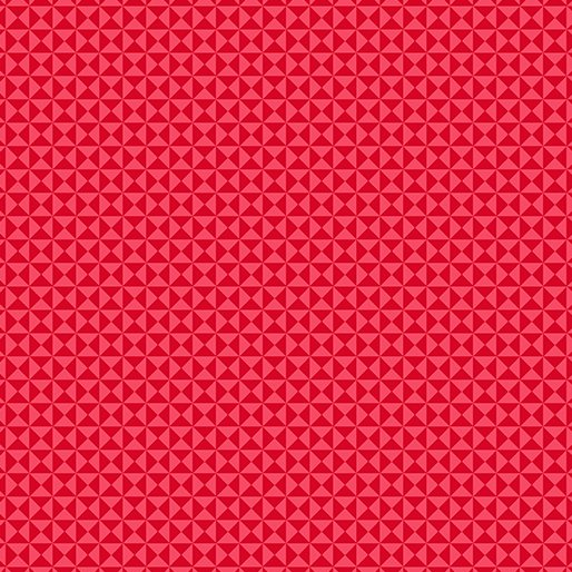 GRIDWORK HOURGLASS RED