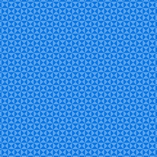 GRIDWORK HOURGLASS BLUE