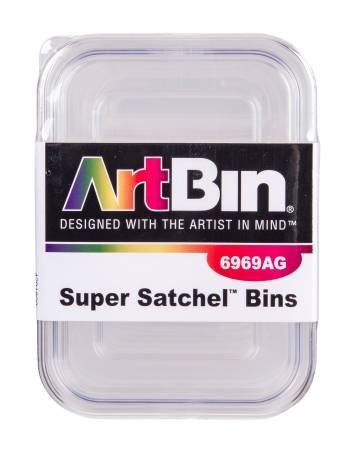 ART BIN WITH LIDS 3 PK