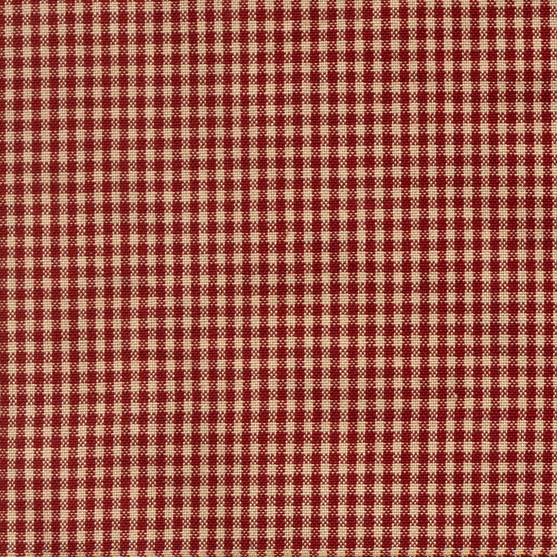 TOWEL MINI RED/CREAM