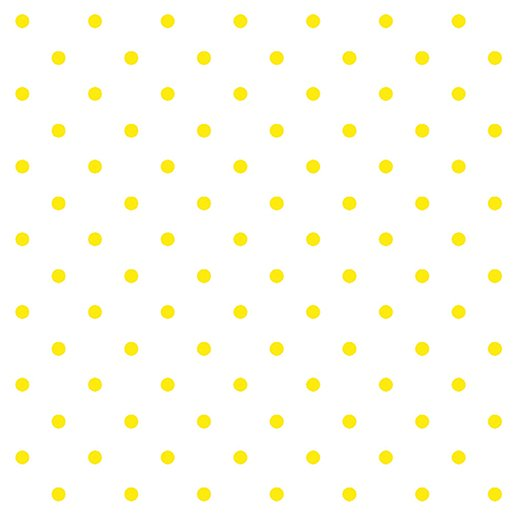 LEMON DROP DOTS WHITE LEMON FRESH
