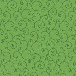 KIMBERBELL BASICS GREEN SCROLL
