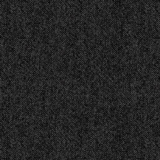 WINTER WOOL FLANNEL - BLACK