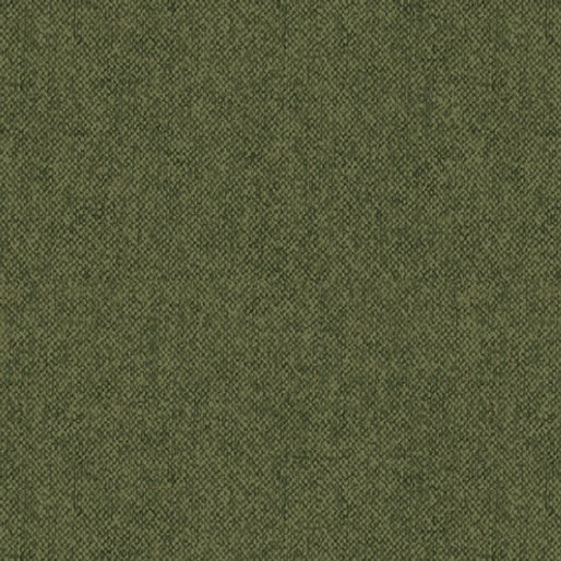 WINTER WOOL FLANNEL - GREEN