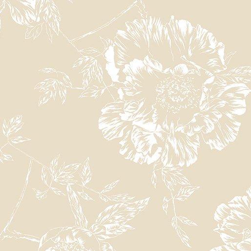 SHADOW FLOWER 108 WIDE LINEN