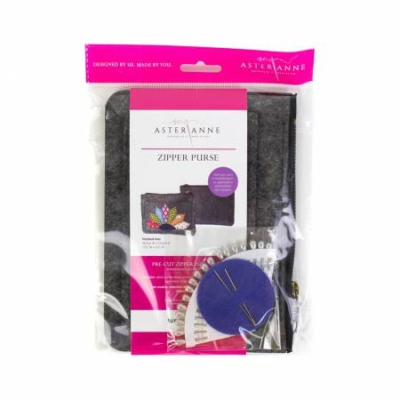 ASTER ANNE ZIPPER PURSE KIT