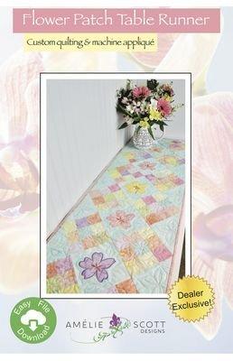FLOWER PATCH TABLE RUNNER