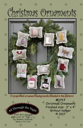 CHRISTMAS ORNAMENTS KITS ATTN
