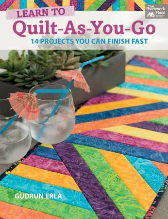 LEARN TO QUILT AS YOU GO BOOK