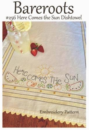 HERE COMES THE SUN DISHTOWEL