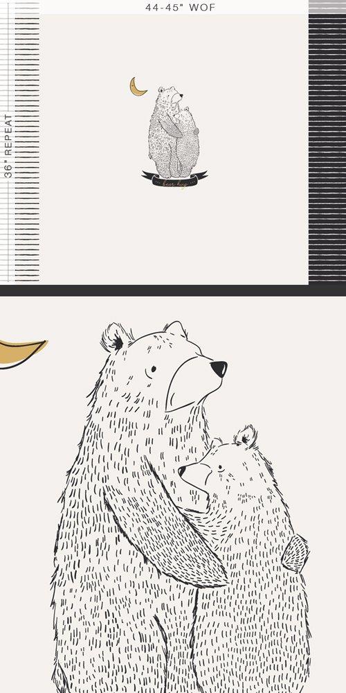 PINE LULLABY-BEAR HUG PANEL