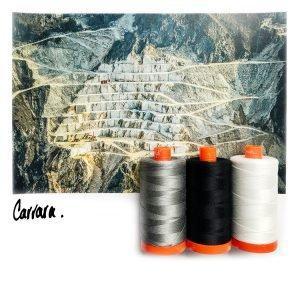 AURIFIL COLOR BUILDER CARRARA BLACK/WHITE