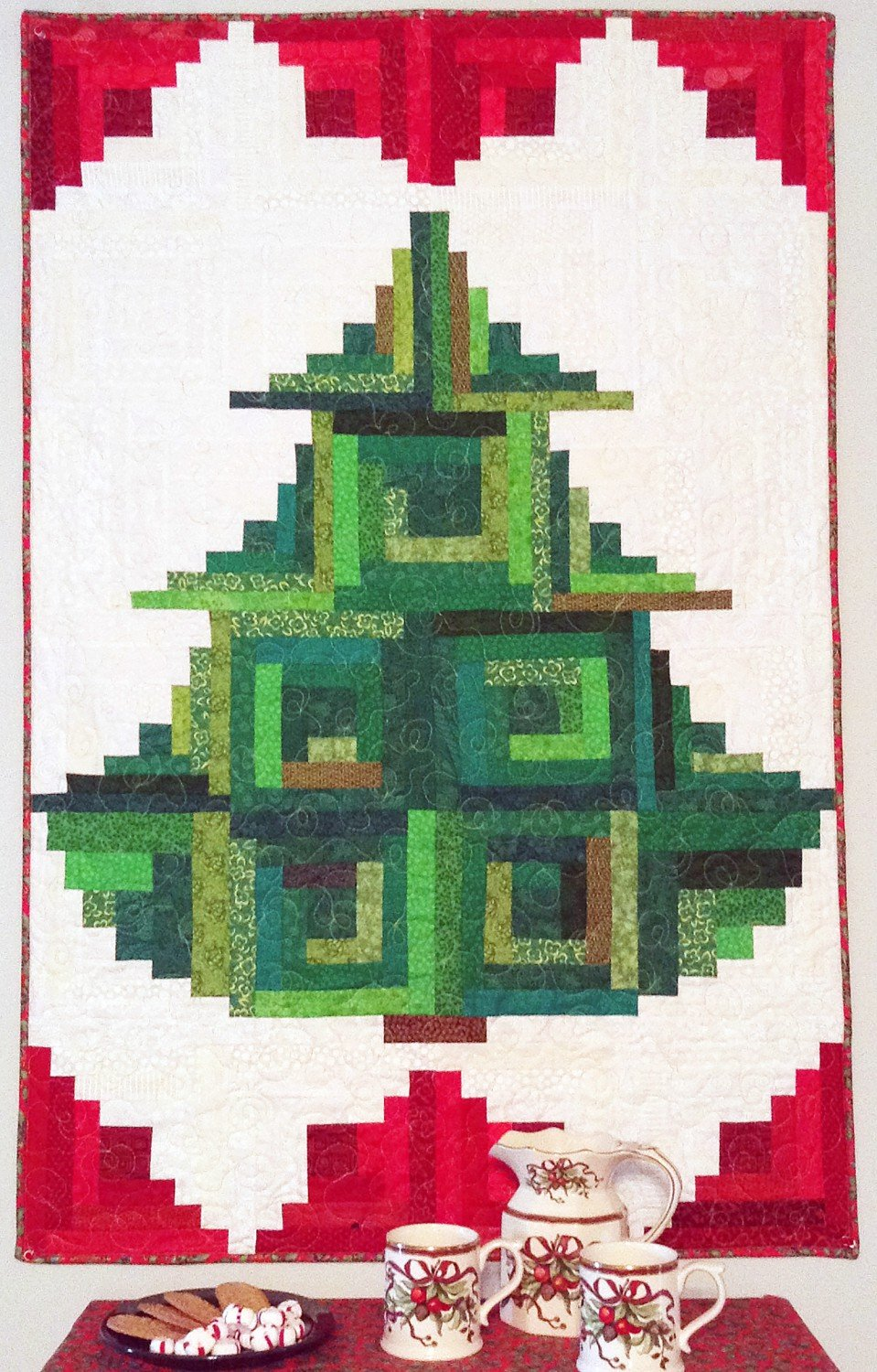 TRIM THE TREE KIT INCLUDED BINDING & PATTERN