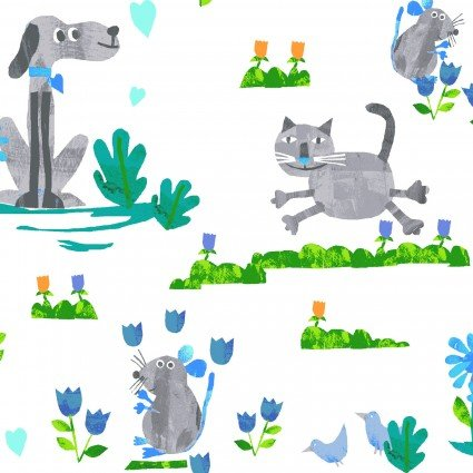 ANIMAL MAGIC DOGS & CATS GRAY