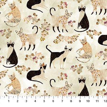 MARCEL DIGITAL BEIGE MULTI CATS