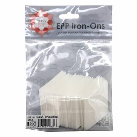 EPP IRON-ONS 1-1/2 60 DEG. DIAMOND 100 PCS