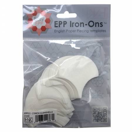 EPP IRON-ONS 2 CLAMSHELLS 100 PCS