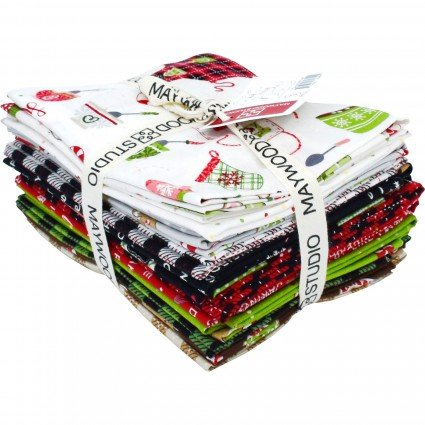 WE WHISK YOU A MERRY CHRISTMAS FQ BUNDLE 15 PC