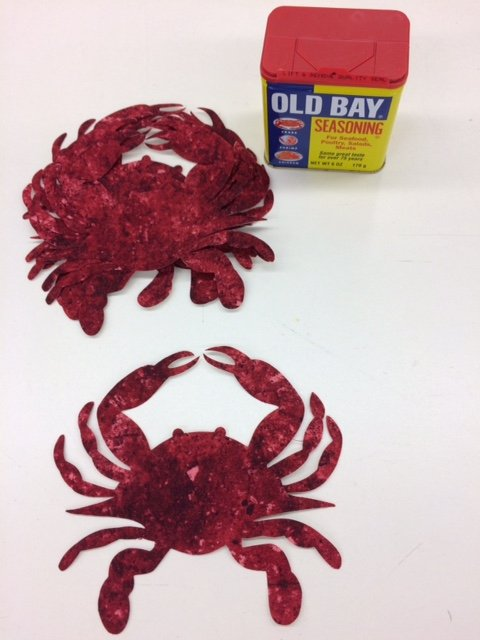 CRABS 3 LG RED