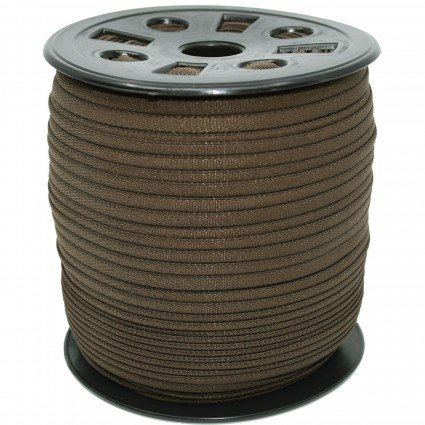 BANDED STRETCH ELASTIC BROWN 1/6 - 10YD PUT UP