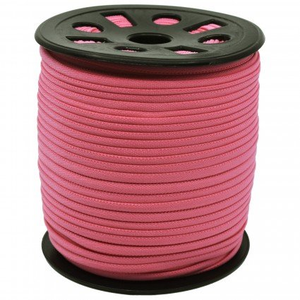 BANDED STRETCH ELASTIC 1/6 PINK - 10YD PUT UP