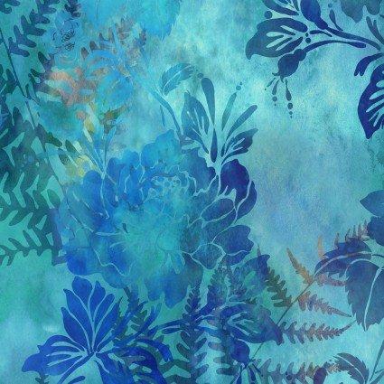 GARDEN OF DREAMS-BLOOMS-LUSH BLUE