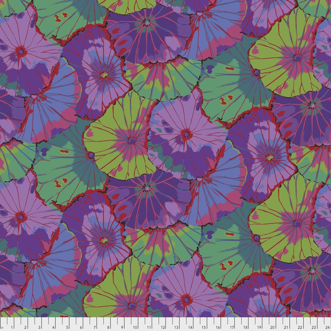 LOTUS LEAF PURPLE 108 WIDE BACK KAFFE FASSETT COLLECTIVE