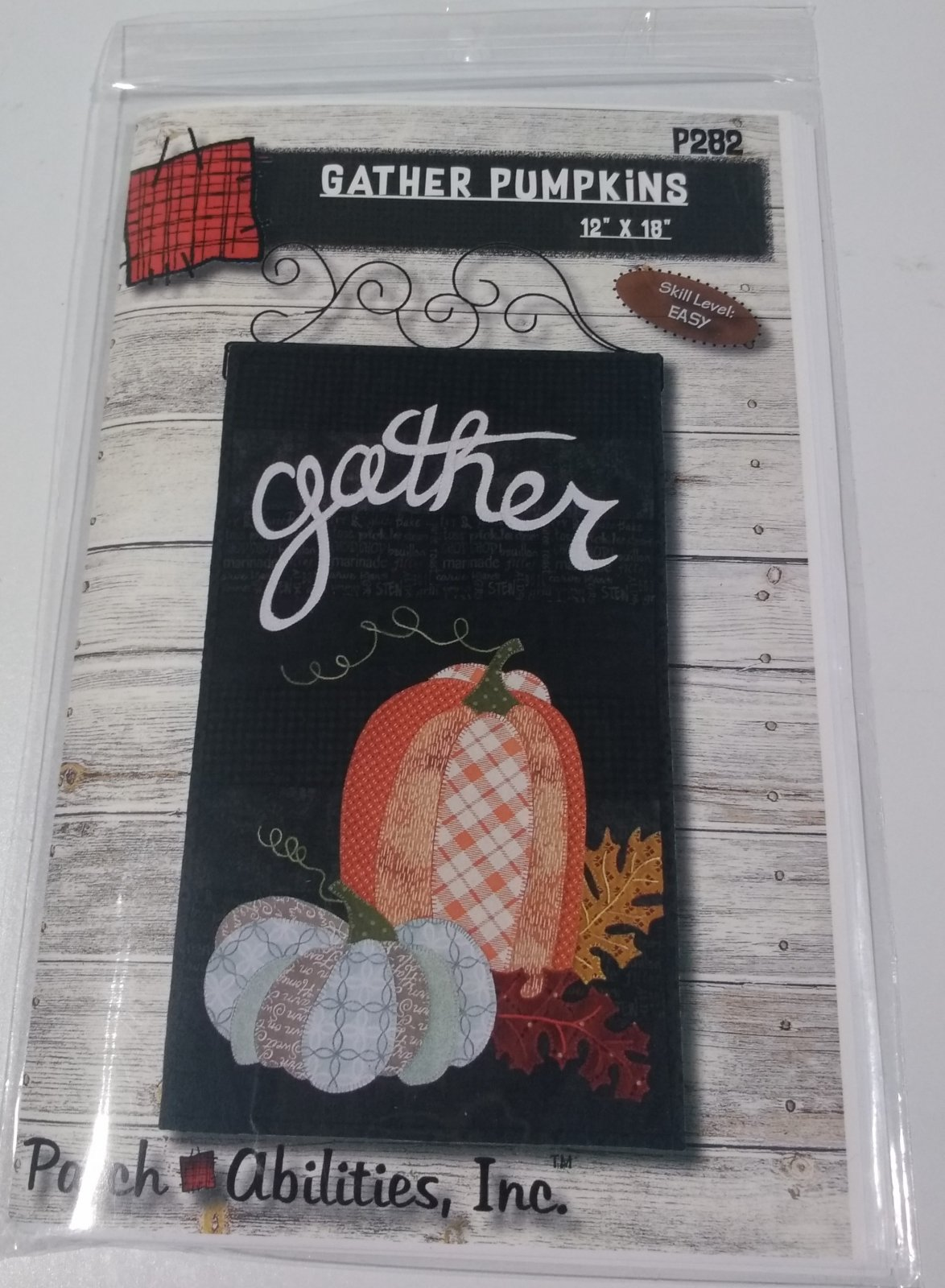GATHER PUMPKINS BY PATCHABILITIES