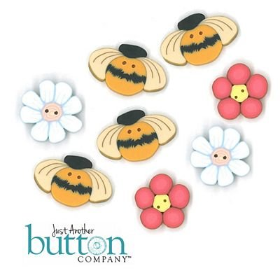 BUTTON PK BUSY BEES TABLE TOPPER KIMBERBELL