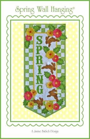 SPRING WALL HANGING EMBROIDERY CD