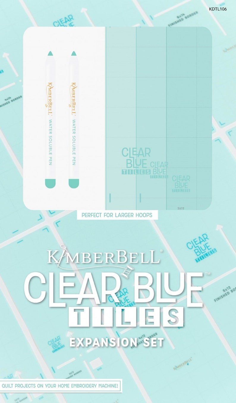 KIMBERBELL CLEAR BLUE TILES EXPANSION SET