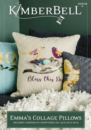 KIMBERBELL EMMA'S COLLAGE PILLOWS CD