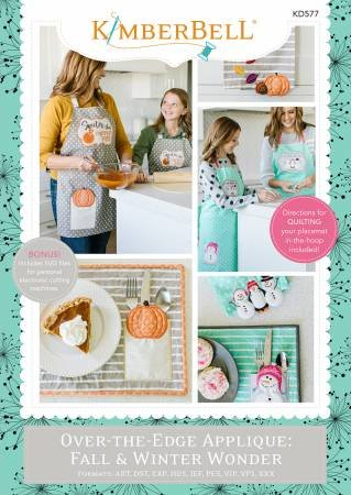 KD OVER THE EDGE APPLIQUE FALL & WINDER WONDER